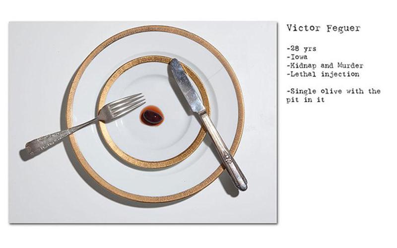 離奇!攝影師拍下死刑犯們處死前「最後的晚餐」…有人竟然只點了一顆橄欖?
