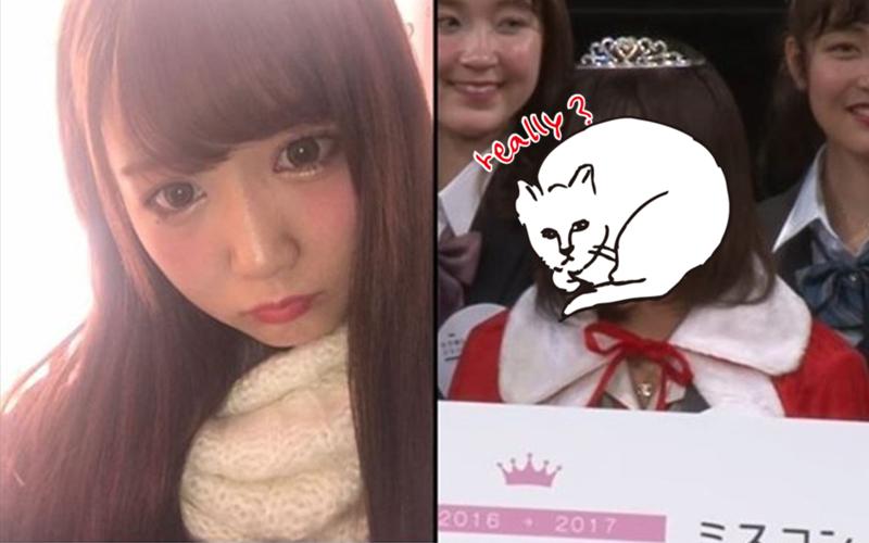 「日本第一可愛女高中生」自拍優勝者出爐!「本人登場」被網友酸:這根本詐欺!(圖+影)